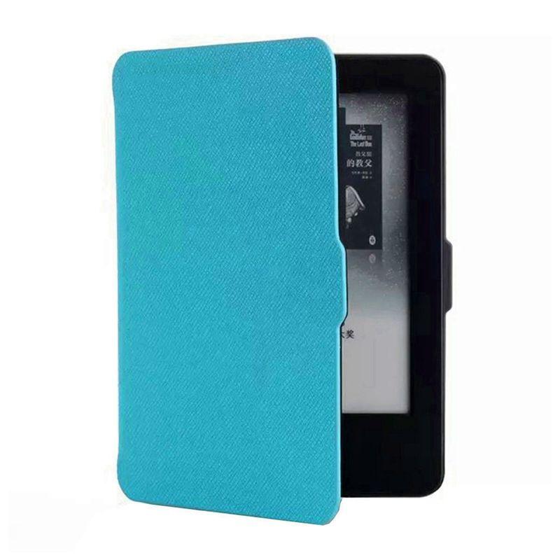 Чехол-обложка Texture для Amazon Kindle Paperwhite Голубая (с магнитной застежкой)