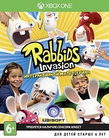 Игра Rabbids Invasion (XBOX ONE)