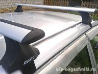 Багажник на крышу Kia Cerato, Атлант, крыловидные дуги, опора Е