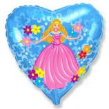"""Принцесса сердце, 18""""/48 см"""