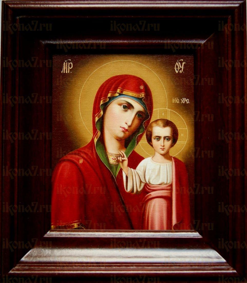 Венчальная пара 11. Казанская икона БМ (21х24)