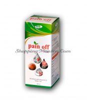 Масло для снятия мышечно-суставных болей Пайн Офф Джайн Аюрведик / Jain Ayurvedic Pain Off Oil
