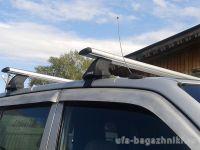 Багажник на крышy Kia Venga, Атлант, крыловидные дуги, опора E