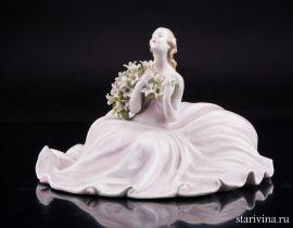 Девушка с лилиями, Von Schierholz, Германия, пер. пол. 20в