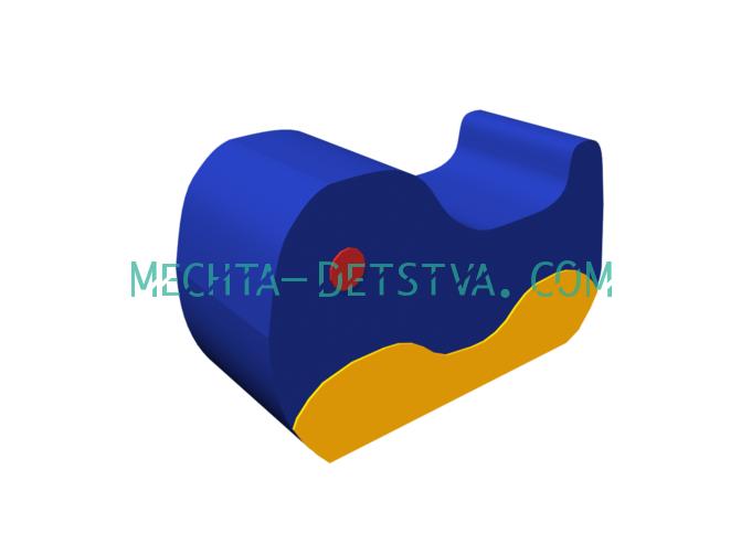 """Мягкий модуль """"Кит"""" МК-1.1.12.00"""
