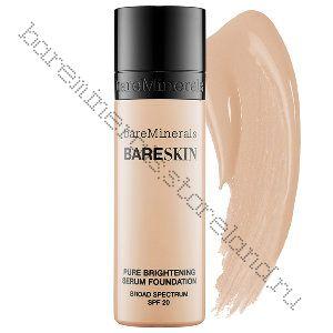 Пудра bareSkin Pure Brightening Serum SPF 20 цвет Bare Ivory 04