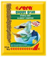 SERA Гуппи Гран Корм для гуппи и других живородящих рыб (10 г)
