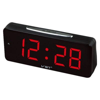 VST763-1 часы 220В крас.цифры
