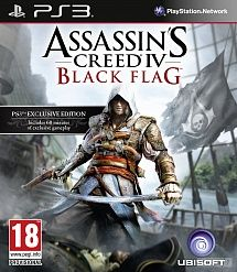Игра Assassins Creed IV Черный Флаг (PS3)