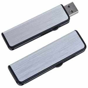 64GB USB-флэш накопитель Apexto U108B металлический слайдер,черная вставка