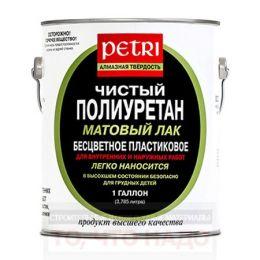 Лак полиуретановый PETRI Diamond Hard матовый