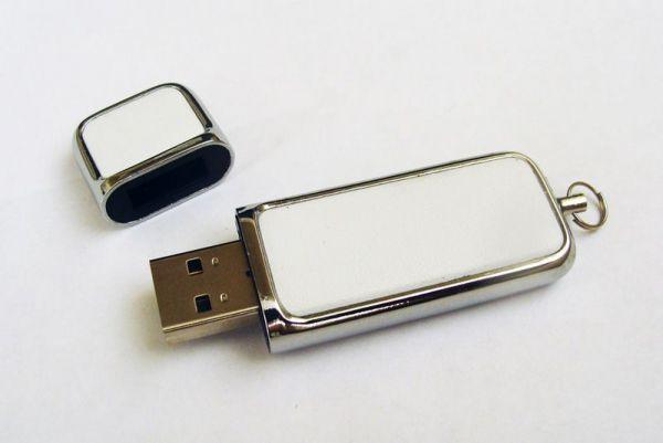 32GB USB-флэш накопитель Apexto U503G гладкая белая кожа OEM