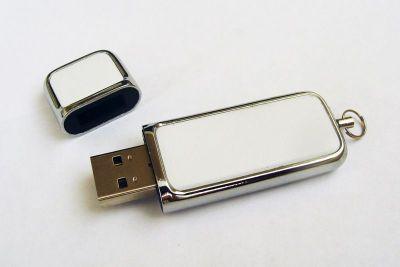 8GB USB-флэш накопитель Apexto U503G гладкая белая кожа OEM