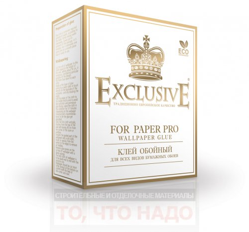 Обойный клей EXCLUSIVE FOR PAPER PRO