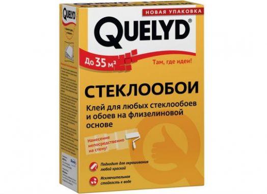 """Клей обойный QUELYD """"Стеклообои"""""""