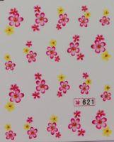 Наклейки на водной основе для дизайна ногтей №621