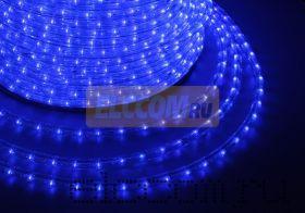 Дюралайт светодиодный, постоянное свечение(2W), синий, 220В, диаметр 13 мм, бухта 100м, NEON-NIGHT