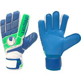 Перчатки вратарские Uhlsport Fangmaschine Soft Blue