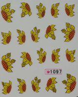 Наклейки на водной основе для дизайна ногтей №1097