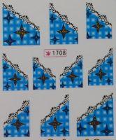 Наклейки на водной основе для дизайна ногтей №1708
