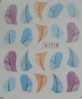 Наклейки на водной основе для дизайна ногтей №1718