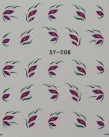 Наклейки на водной основе для дизайна ногтей SY008