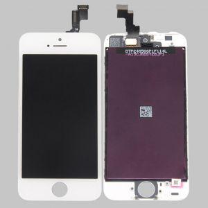 LCD (Дисплей) iPhone 5S (в сборе с тачскрином) (white) Оригинал