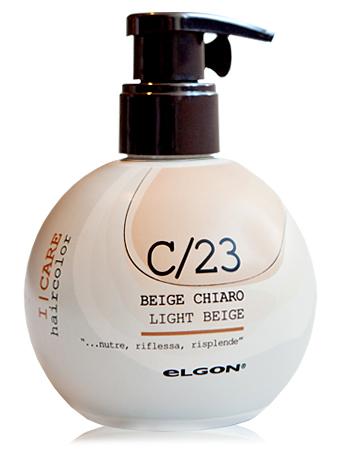 Elgon I Care Светлый беж Окрашивающий крем-кондиционер С23