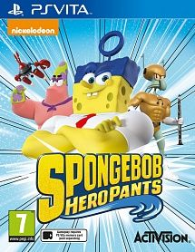 Игра Spongebob Hero Pants (PS VITA)