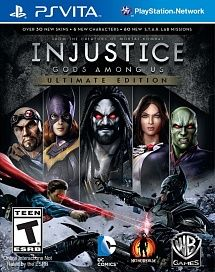 Игра Injustice Gods Among Us (PS VITA)