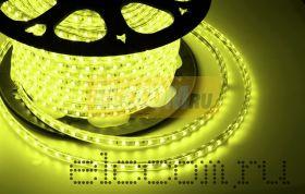 LED лента Neon-Night, герметичная в силиконовой оболочке, 220V, 13*8 мм, IP65, SMD 5050, 60 диодов/метр, цвет светодиодов желтый, бухта 50 метров