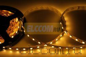 LED лента открытая, ширина 10 мм, IP23, SMD 5050, 60 диодов/метр, 12V, цвет светодиодов теплый белый NEON-NIGHT