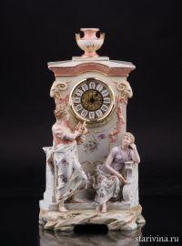Орфей и Эвридика, часы, Karl Ens, Германия, кон. 19, нач 20 вв