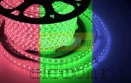 LED лента Neon-Night, герметичная в силиконовой оболочке, 220V, 13*8 мм, IP65, SMD 3528, 60 диодов/метр, цвет светодиодов RGB, бухта 50 метров