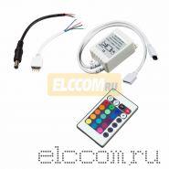 LED контроллер для RGB модулей/лент, 24-12V/6A Инфракрасный (IR)