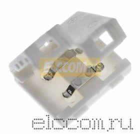 Коннектор соединительный для одноцветных светодиодных лент без влагозащиты, шириной 10 мм, беспроводной