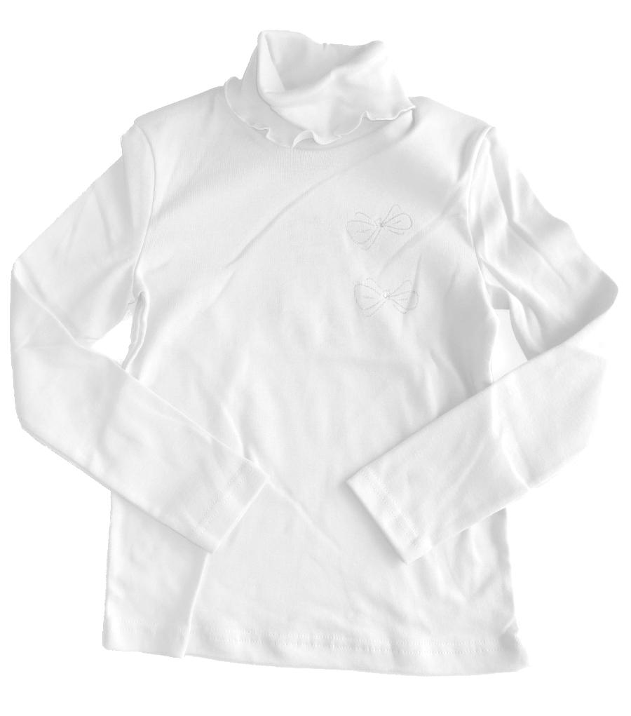 Белый джемпер для девочки