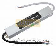 Источник питания 110-220V AC/12V DC, 2А, 24W с проводами, влагозащищенный (IP67)