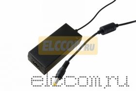 Источник питания 110-220V AC/12V DC, 3А, 36W с DC разъемом подключения 5.5*2.1, без влагозащиты (IP23)