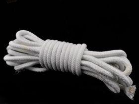 Верёвка с сердцевиной - белая (1 метр) 10 мм