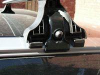 Багажник на крышу Volvo XC60 с интегрированными рейлингами, Атлант, прямоугольные дуги
