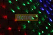 Гирлянда - сеть Чейзинг LED 2*1.5м (288 диодов), КАУЧУК, МУЛЬТИ
