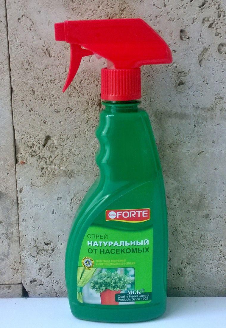 """Спрей от насекомых вредителей """"Bona Forte"""" 500мл"""
