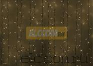 """Гирлянда """"Светодиодный Дождь"""" 2х1,5м, постоянное свечение, белый провод, 220В, диоды ТЁПЛО-БЕЛЫЕ, NEON-NIGHT"""