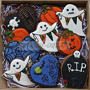 """Имбирные пряники в наборах """"Хэллоуин"""" Сладкие подарки на Helloween"""