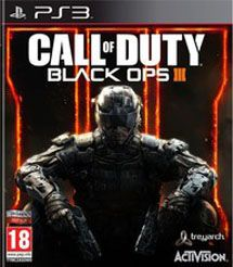 Игра Call of Duty Black Ops III (PS3)