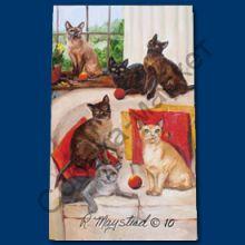 Бурманская кошка ручка шариковая США