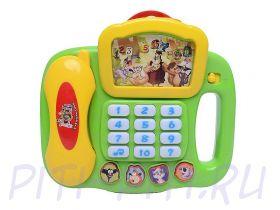 "S+S Toys Умный телефон ""Уроки тетушки Совы"""