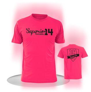 SUPERIOR14 T-shirt Ladies футболка розовая S