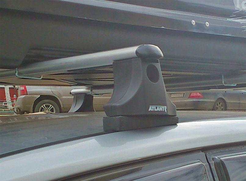 Багажник на крышу Ford S-Max, Атлант, аэродинамические дуги